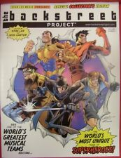 Backstreet Boys Project Menace Death Queen 1 Comic Stan Lee Carter 2000 Nm