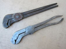 2  WRENCHES : PAT'D 1903  Wm, HJORTH &CO, JAMESTOWN ,NY, COMBINATION TOOLS