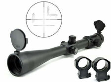 Visionking 10-40x56 Hunting 35 mm Targe Rifle Scope 21mm Picatinny Mount Rings
