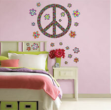Wall Pops Wallpops Peace Large Wall Art Kit Stickers Decals NEW  WHOLESALE