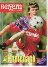BL 92/93 FC Bayern München - Hamburger SV