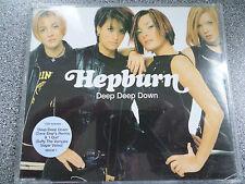 HEPBURN  - DEEP DEEP DOWN - CD - 3 TRACK SINGLE
