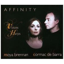 Affinity: Voices & Harps [Digipak] * by Cormac DeBarra/Moya Brennan (CD,...