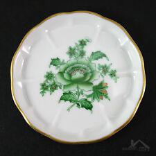 Herend Nanking Bouquet Vert (Green) Coaster 8772/NBV