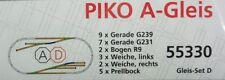 Piko H0 55330 - Gleisset D - Rangiergleisset - A-Gleis - NEUWARE