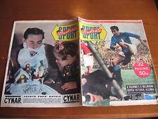 LO SPORT ILLUSTRATO GAZZETTA 1953/1 FAUSTO COPPI ITALIA SVIZZERA CALCIO