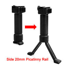 Tactical Front handGrip Vertical Foregrip Bipod 20mm Picatinny Rail for rifle