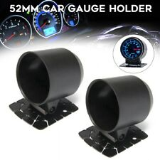 2x Universal 52mm Gauge Po d Gauge Cup Car Mount Holder Meter Pods Dash Bracket
