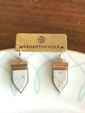 New Samantha Wills earrings in rose gold