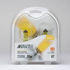 Nokya Hyper Yellow H7 55W Light Bulbs