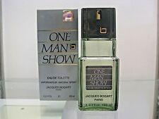 ONE MAN SHOW by JACQUES BOGART 3.3 FL.OZ. Eau de Toilette for Men - Original Box
