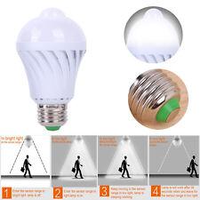 E27 Infrared Body PIR Sensor 5W LED Night Light Bulb Auto Lamp Motion Detector