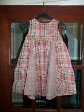 NEW NEXT GIRLS CHECKED SUMMER DRESS AGE 2-3 YEARS NEW AND TAGGED