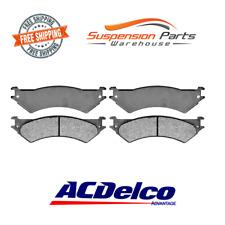 Rear Disc Brake Pad Semi-Metallic Pads Set For Ford Vans E-150 E-250 E-350
