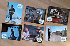 Sergio Leone: For A Few Dollars More 6 German lobby cards Clint Eastwood 1981