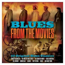 Blues From The Movies - 52 Original Blues Classics (3CD 2016) NEW/SEALED