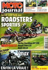 MOTO JOURNAL 1811 DUCATI 1000 Monster S2R HARLEY DAVIDSON R 1200 BUELL XB 12 S