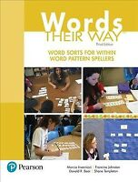 Word Sorts for Within Word Pattern Spellers, Paperback by Invernizzi, Marcia;...