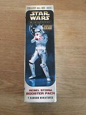 Miniaturas de Star Wars-Rebel Storm Booster Pack (trooper) - nuevo/abrir-Reino Unido Vendedor