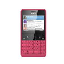 Nokia Asha 210 Originale MP3 Wifi Bluetooth Cellulare Dual SIM sbloccato Rosso