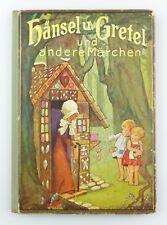 #e7631 vecchio libro per bambini: Hansel e Gretel e altre fiabe di L. BECHSTEIN