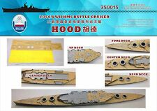 Shipyard 1/350 350015 Wood Deck HMS Hood for Trumpeter