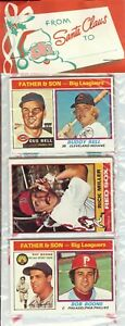 1976 Topps Baseball Holiday Christmas Rack Pack Rookie RC? HOF Boone Bell Top