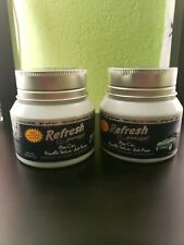 2 Pack Refresh Your Car! Air fresheners Gel Jars, New Car Scent, 5 oz