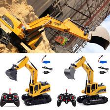 Remote Control Construction Excavator RC Tractor Bulldozer Crawler Truck Toy