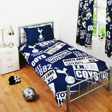 TOTTENHAM HOTSPUR FC SINGLE DUVET COVER SET SPURS