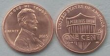 USA 1 Cent Lincoln 2015 D unz.