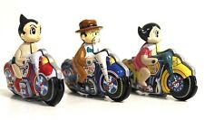 "Tezuka Astro Boy Motorcycle Tin Toy Collection Lot 2"" Gashapon Figure [A40]"