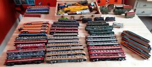 Lots De 70 Train Électrique Ho Lima Jouef Gégé