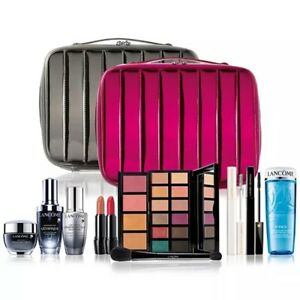 NIB Lancome Blockbuster 2020 10pc Holiday Beauty Box Makeup Gift Set $555 Value