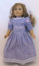 "Doll Clothes Fit AG 18"" Dress Lavender Samantha Made For American Girl Dolls"