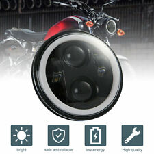 """Brightest 5-3/4"""" 5.75"""" inch LED Projector Headlight DRL for Motorcycle Motor(Fits: Ducati GT)"""
