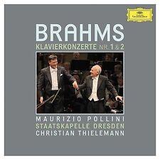 Maurizio Pollini: BRAHMS PIANO CONCERTOS # 1 & 2 - 2 CDs - Thielemann