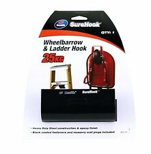 Zenith Sure Hook WHEELBARROW & LADDER HOOK Heavy Duty Steel Loads upto 25kg