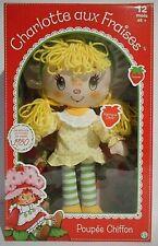 CHARLOTTE AUX FRAISES figurine poupée chiffon Meringue Citron réédition vintage