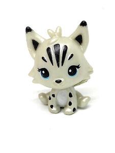 New Hatchimals CollEGGtibles White Pearl Diamond Lynx Silver Lynx RARE
