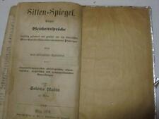 1854 SEFER HAMIDOT World Fables & Proverbs by SHLOMO RUBIN + NOTED COPY !!