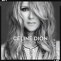 CELINE DION Loved Me Back To Life CD NEW/UNPLAYED Stevie Wonder Ne-Yo