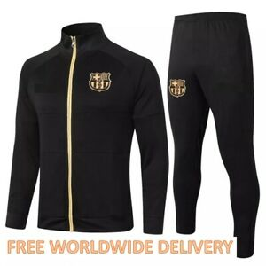 BARCELONA soccer football tracksuit survetement 20/21