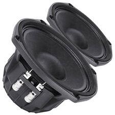 "Pair Faital Pro M5N8-80 8ohm Neodymium 5"" 99dB SPL Midrange Line Array Speaker"