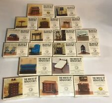 The House Of Miniatures Wood Kits X-Acto 18 Sealed Chippendale Q. Ann Other
