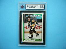 1991/92 O-PEE-CHEE NHL HOCKEY CARD 9 JAROMIR JAGR SUPER ROOKIE KSA 8.5 NMMT+ OPC