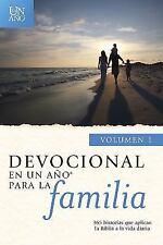 Devocional en un a�o para la Familia Vol. 1 (2013, Paperback)