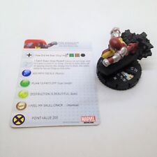 Heroclix Fear Itself set Colossus (Juggernaut) #029 Super Rare figure w/card!