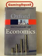 Oxford Dictionary of Economics PB Book, Supplied by Gaming Squad