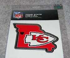 KANSAS CITY CHIEFS NFL FOOTBALL SPORTS HOME STATE SMALL DECAL